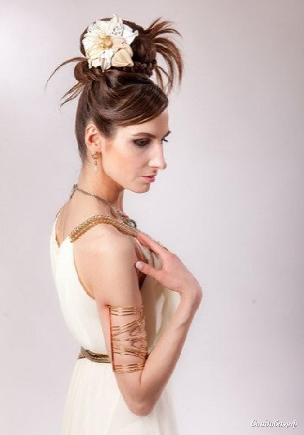 Фото прически греческая богиня